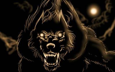 werewolf sketch 3 by FuriarossaAndMimma