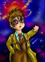 Chibi 10th Doctor 2