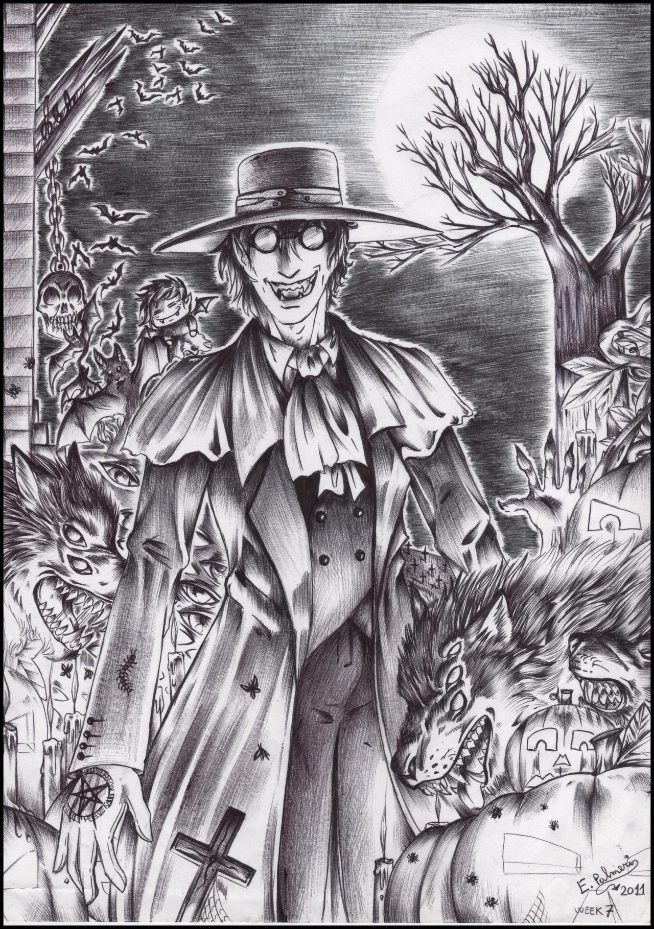 Week 7-Alucard's Halloween by FuriarossaAndMimma