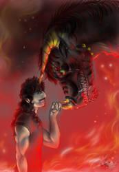 The hellish duo by FuriarossaAndMimma