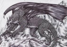 Week 25-Black Dragon by FuriarossaAndMimma