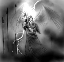 Apocaliptic warrior 1 by FuriarossaAndMimma