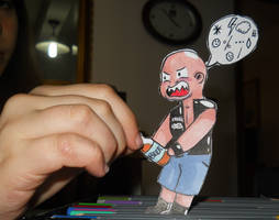 Paperchild 1. Steve Austin by FuriarossaAndMimma