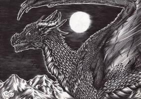 Week 37-Black Dragon by FuriarossaAndMimma