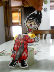 Paperchild 12. Decapitated Alucard by FuriarossaAndMimma