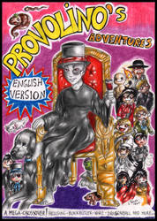The Adventures of Provolino-Cover by FuriarossaAndMimma