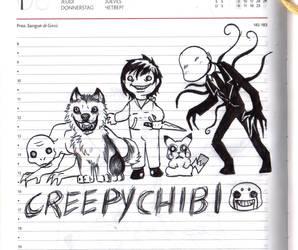 Creepychibi by FuriarossaAndMimma