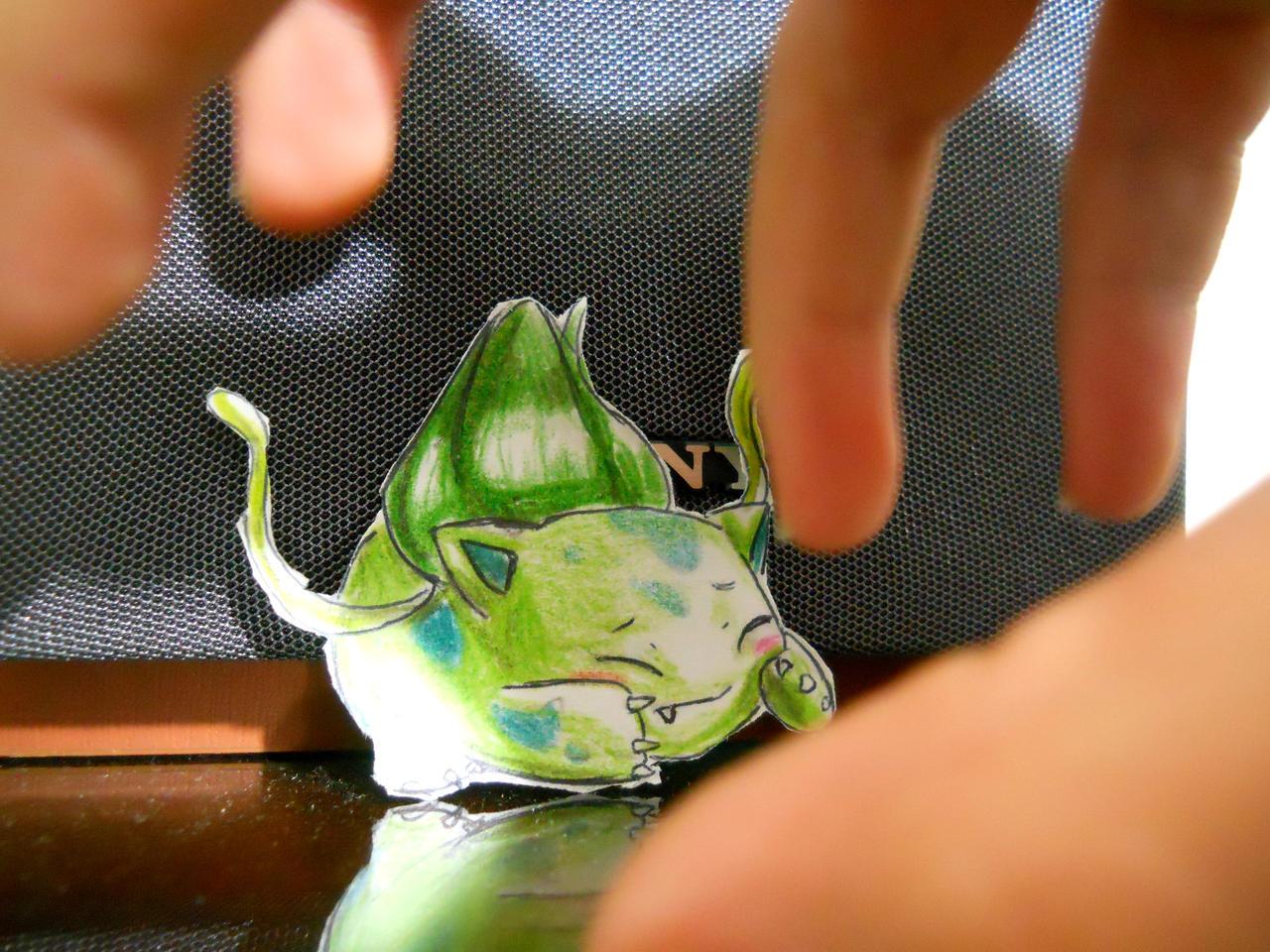 Paperchild 39. Pokemon 1 - Bulbasaur by FuriarossaAndMimma