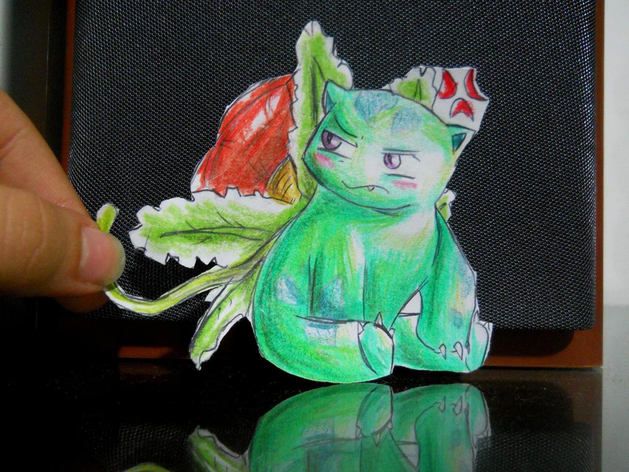 Paperchild 41. Pokemon 3 - Venusaur by FuriarossaAndMimma