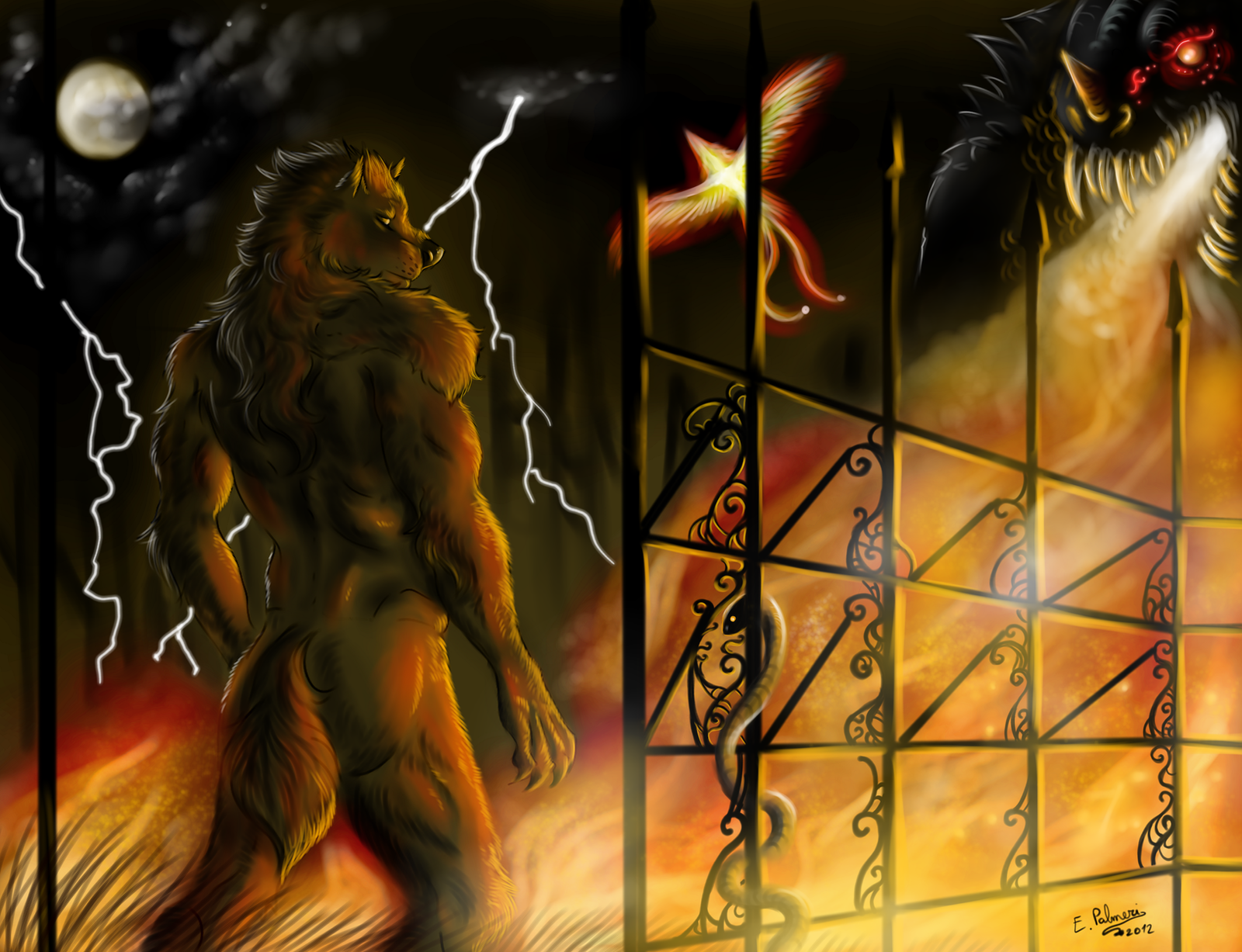 Hellfire by FuriarossaAndMimma