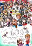 600+ Watchers - Thank you! by FuriarossaAndMimma