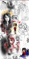 NBC Hannibal sketchdump