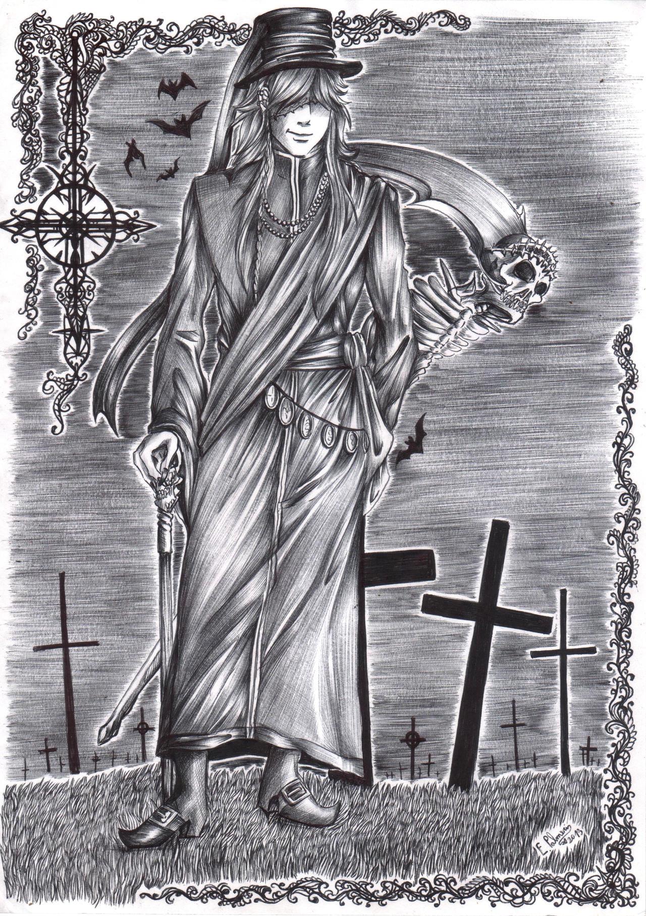 Black Butler - Undertaker by FuriarossaAndMimma