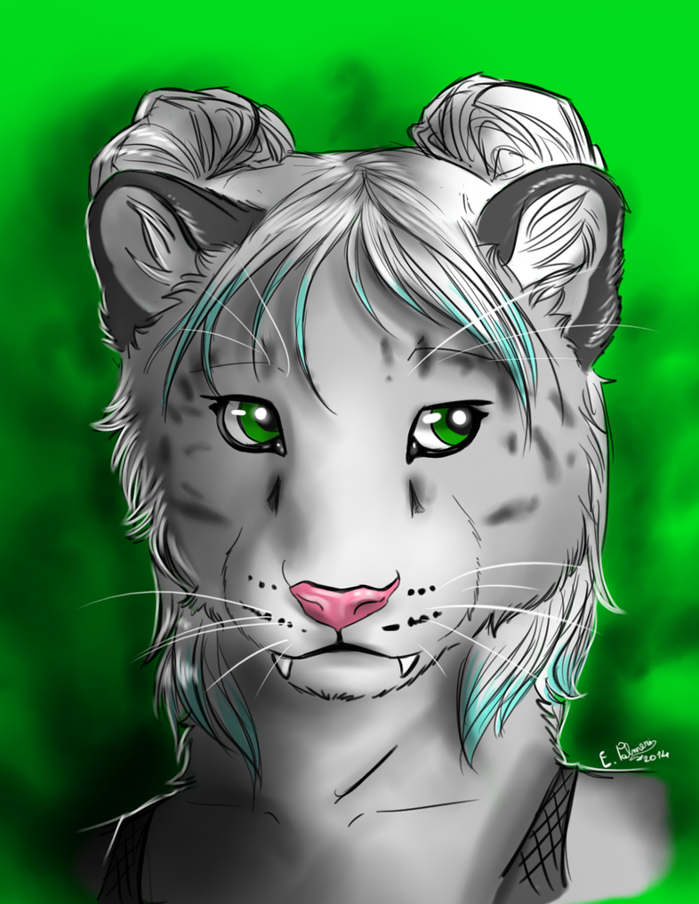 Headsketch Commission for lilimissrose by FuriarossaAndMimma