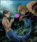Hannibal mermaid AU - I want your voice