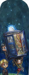 Hannibal - Doctor Who - TARDIS Bookmark by FuriarossaAndMimma