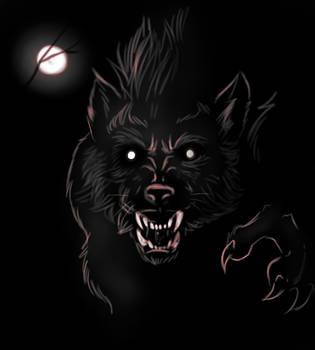 Werewolf sketch 7 by FuriarossaAndMimma