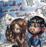 We will go home across the mountains by FuriarossaAndMimma