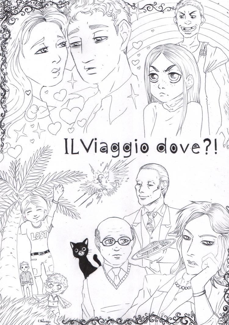 Il Viaggio Dove - Lineart by FuriarossaAndMimma