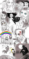 WWE stupid sketches 1 by FuriarossaAndMimma