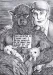 Exoterism - Werewolf shaming by FuriarossaAndMimma