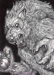 ACEO - Werewolf