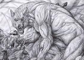 The deerkiller - BW by FuriarossaAndMimma