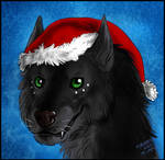 Commission - Werewolf Christmas 4