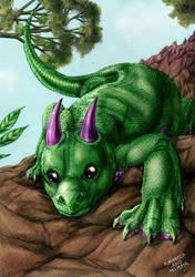 Mint Dragon by FuriarossaAndMimma