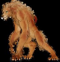 Werewolf Mark McWoodland by FuriarossaAndMimma
