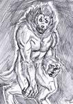 Inktober 2017 - Blind beast