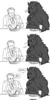 WerewolfAndCannibal - Werewolf pun 1