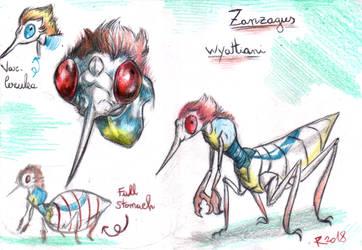 Zanzagus Wyattiani by FuriarossaAndMimma