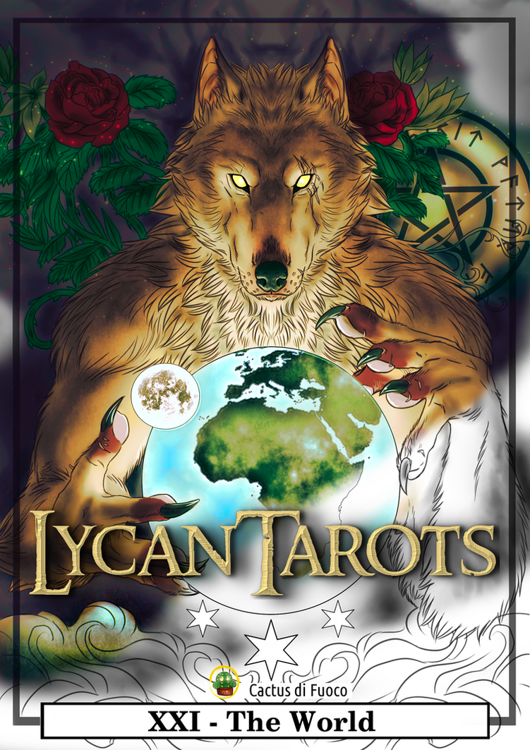 LycanTarots cover by FuriarossaAndMimma