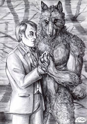 Werewolf and Cannibal - The heart of a dragon by FuriarossaAndMimma