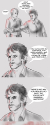 Werewolf and Cannibal -  Fake Hannibal by FuriarossaAndMimma