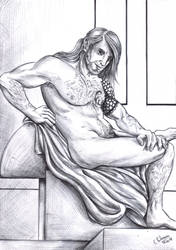 Draw me like one of your greek warriors by FuriarossaAndMimma