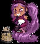 Chibi Entrapta and a Dalek