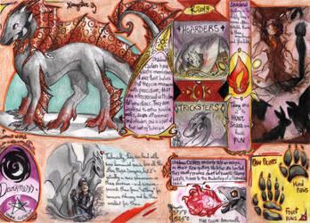 Schattenzauber dragons 2 by FuriarossaAndMimma