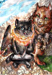 Look, a baby cerberus by FuriarossaAndMimma