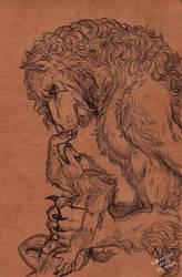 Werewolf father by FuriarossaAndMimma