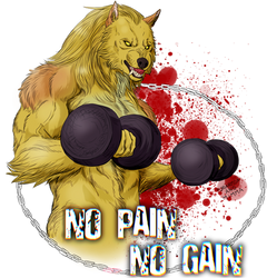 No Pain no Gain by FuriarossaAndMimma