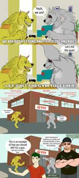 Sara's fitness vlog - Hit the gym