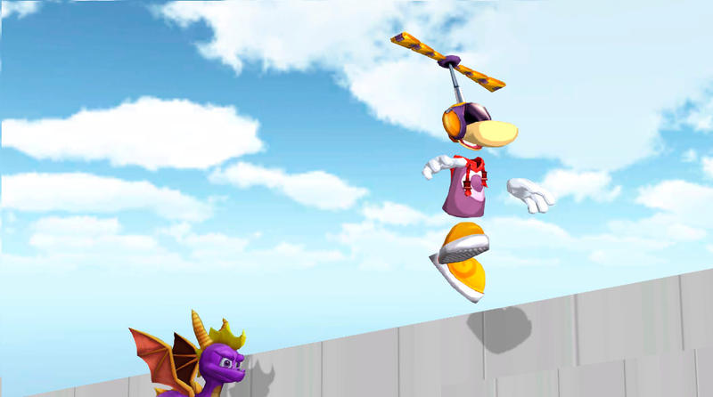 [Image: rayman_can_fly_____by_dracopower-d9361tz.jpg]