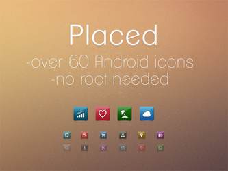 Placed - Android Icons by diggedy