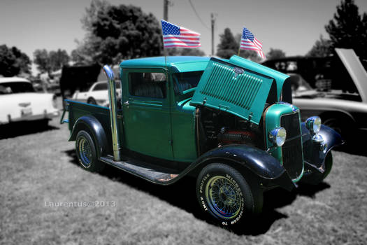 A Ford truck - Customized