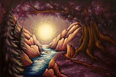 River of Light by Jonsama