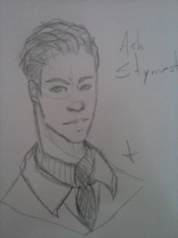 Bust Sketch 01 - Ash Stymest by VPadial