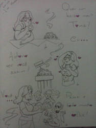 Quer Um Beijo? - Drawing 1 by VPadial