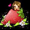 Me Strawberry by angelnablackrobe